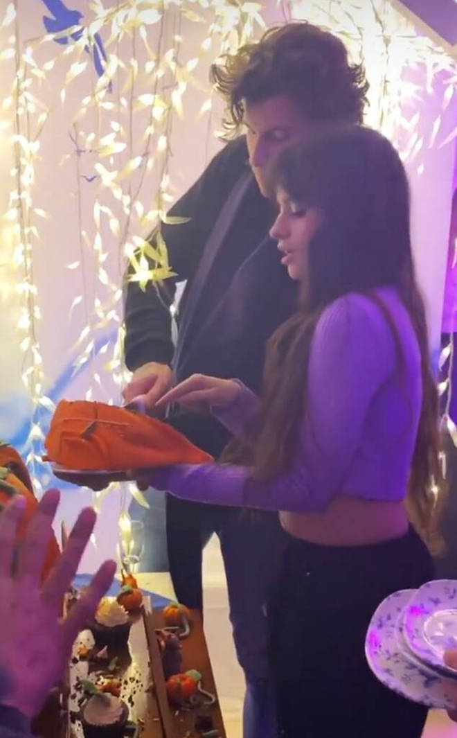 Shawn flew in from Toronto to join Camila for her birthday celebrations in Blackpool.