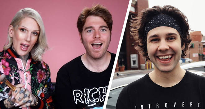 David Dobrik asks Jeffreed Star a question that has Shane Dawson's fans upset