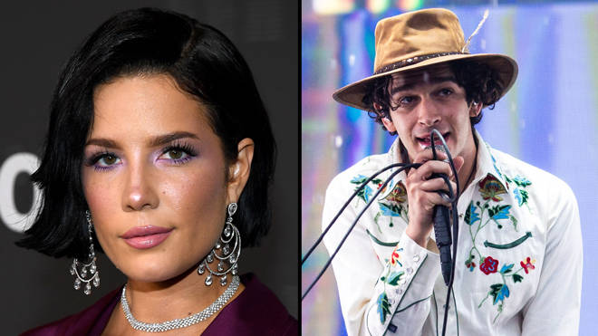 "Halsey claps back at accusations she ""ripped off"" The 1975 with her Manic tour"