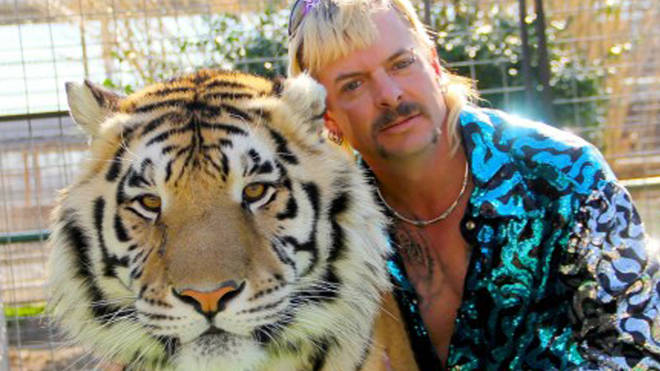 Joseph Maldonado-Passage, also known as the Tiger King, keeps over 1,200 animals in his yard - mostly lions, tigers and bears.