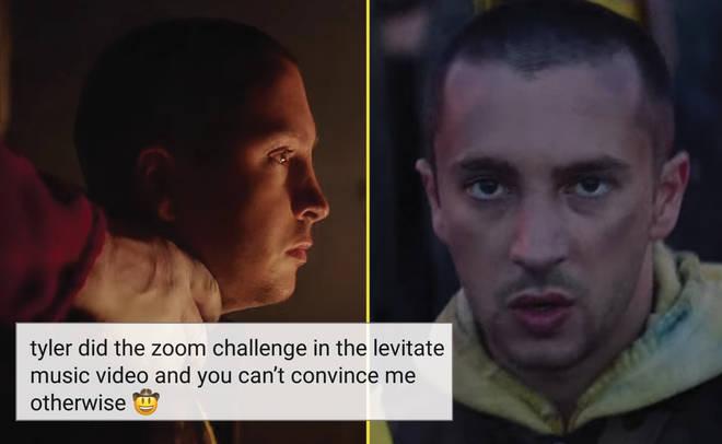 Tyler Joseph Zoom Challenge