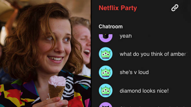 Netflix party can host up to 500,000 watching at the same time.