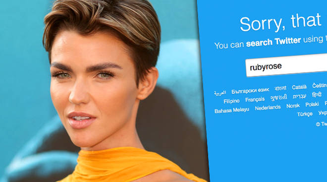 Ruby Rose Deletes Twitter