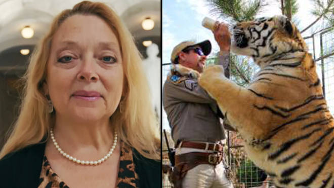CAROLE DID IT FED HER HUSBAND TO TIGERS T-Shirt Joe Exotic King Cat Rescue Show