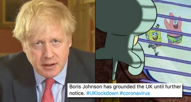 21 UK lockdown memes following Boris Johnson's new coronavirus statement