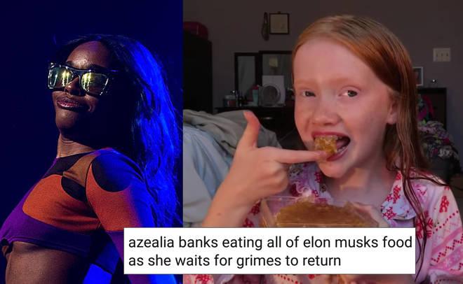 Azealia Banks Grimes meme