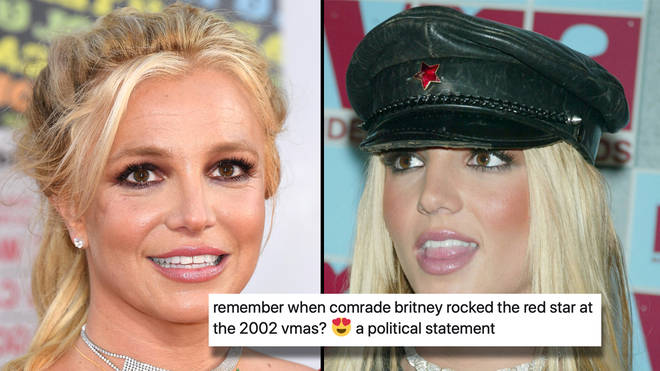Britney has been showing off her political side during coronavirus lockdown, and fans are reading into it a little too heavily.