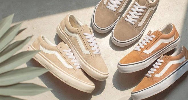 Vans drop new milk tea Old Skool collection