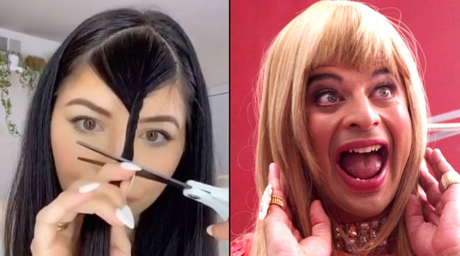 'Quarantine bangs' are a thing on TikTok but celebrity stylist Justin Marjan says don't do it