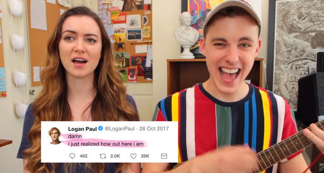 jon cozart logan paul tweet twitter song