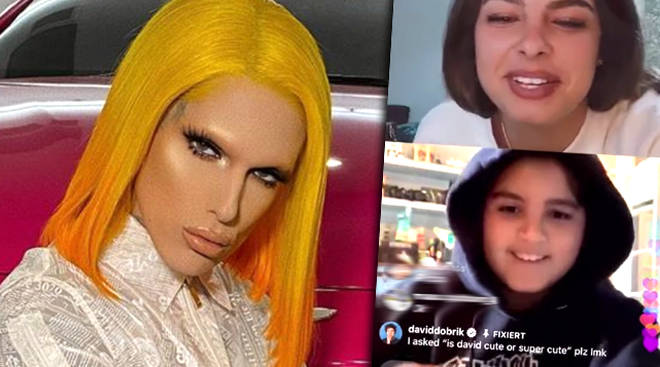 "Jeffree Star responded to Mason Disick calling him ""spoiled AF"" on Instagram live"