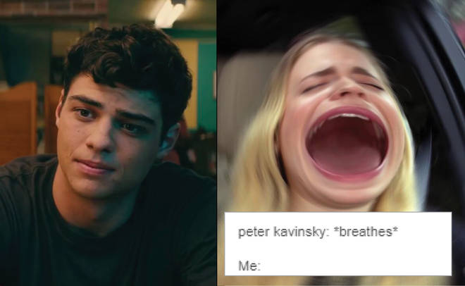 Noah Centineo as Peter K crush
