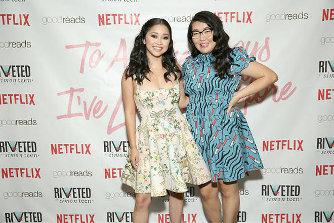 Jenny Han and Lana Condor
