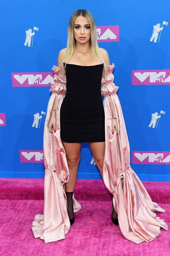 Tana Mongeau's MTV VMA's dress