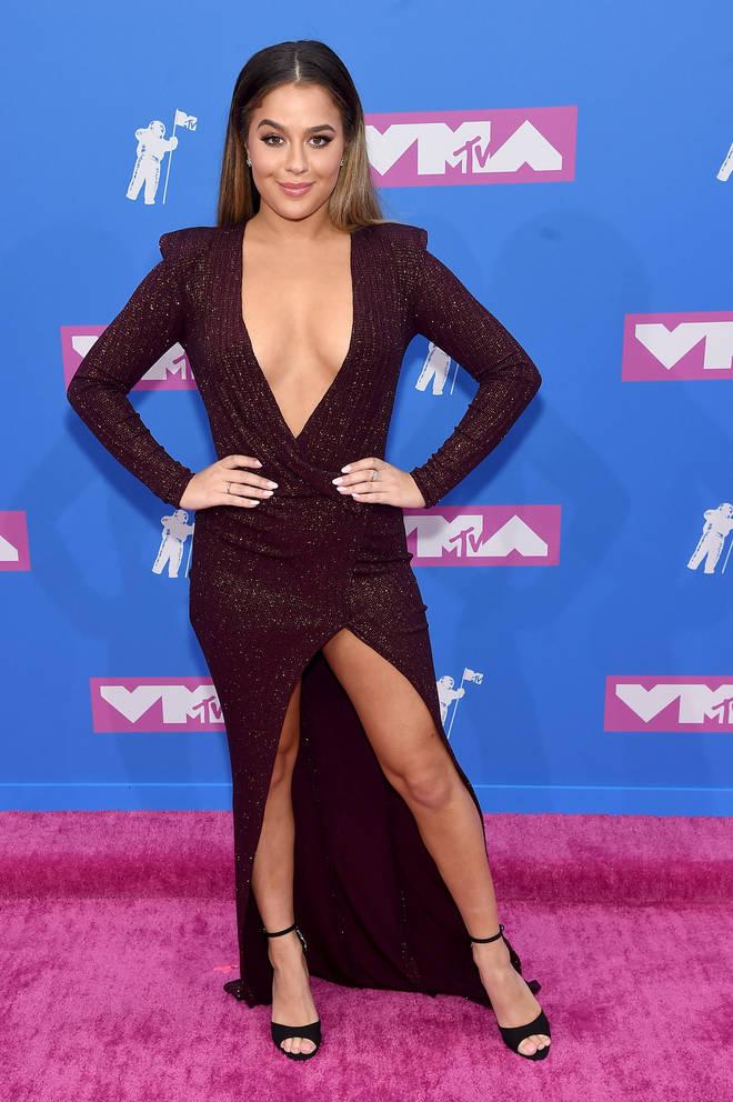 Tessa Brooks at the MTV VMAs