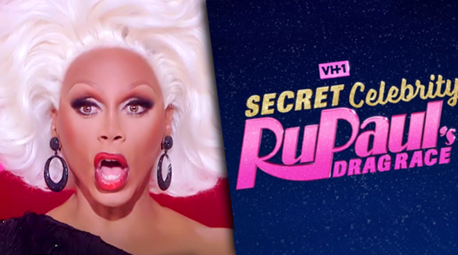 RuPaul's Secret Celebrity Drag Race starts on 24th April for four weeks.