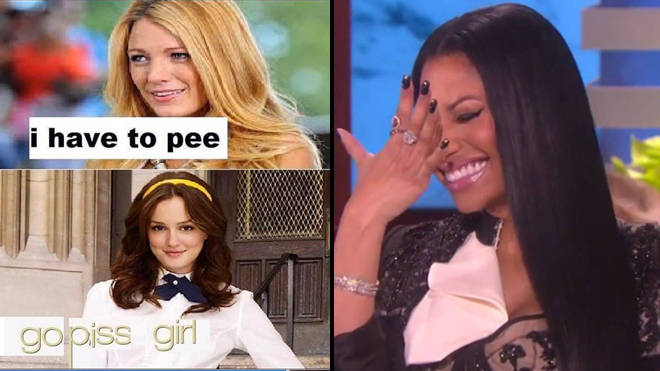 """Gossip Girl memes are going viral and it&squot;s all thanks to a """"go piss girl"""" joke"""