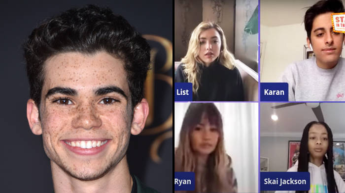 Jessie Cast Pay Tribute To Cameron Boyce In Emotional Livestream Reunion Popbuzz