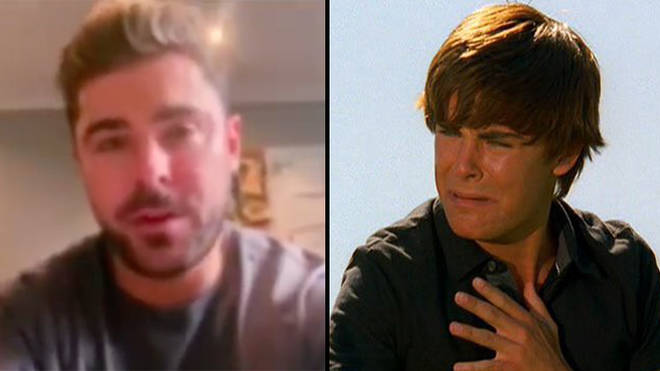 Zac Efron joined the Singalong to introduce the cast of High School Musical.