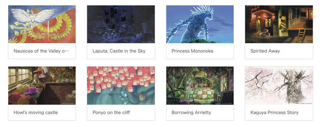 Studio Ghibli zoom backgrounds are available to download