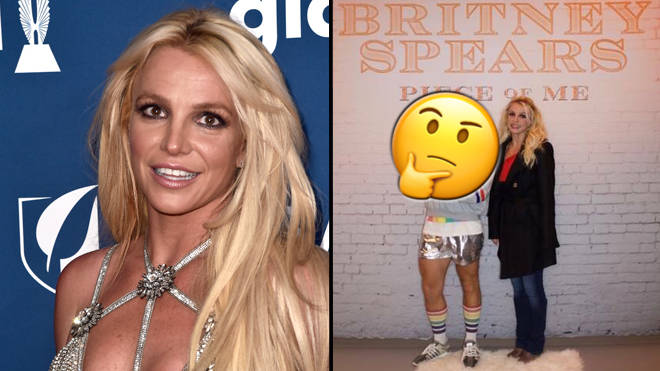Britney spears fans slam man who mocks her with an umbrella popbuzz britney spears picture alberto e rodriguezgetty images instagram m4hsunfo