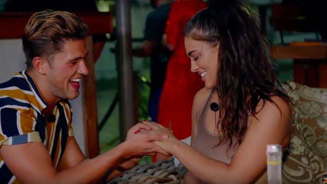 Ibiza Weekender rep Jordan Davies proposed to Lydia on the boat party during series two.