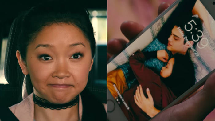 The Story Behind Lara Jean S Lock Screen In To All The Boys Will Literally End You Popbuzz