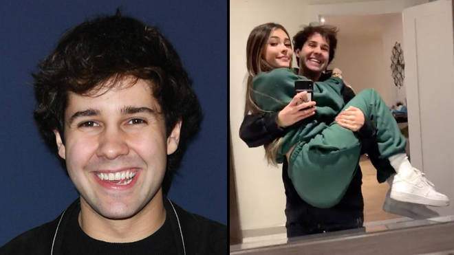 David Dobrik fans think he just confirmed he's dating Madison Beer in a TikTok video