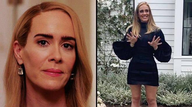 Adele fans think she looks exactly like Sarah Paulson in new birthday photo