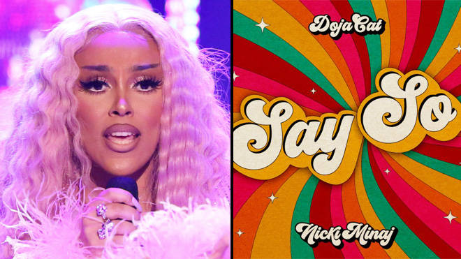 Doja Cat and Nicki Minaj land first Hot 100 Number 1 single with Say So remix