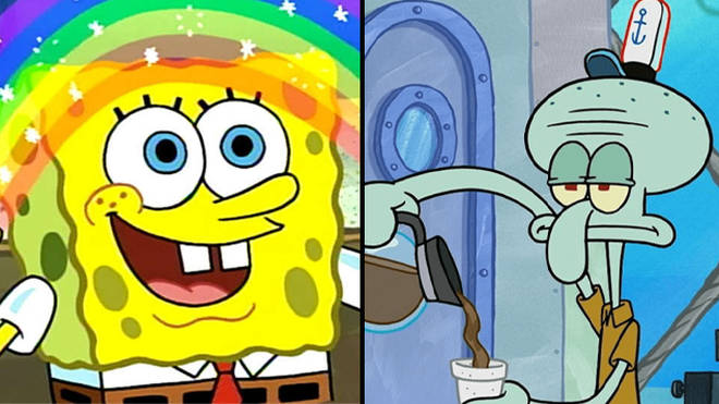 Are you more SpongeBob or Squidward?