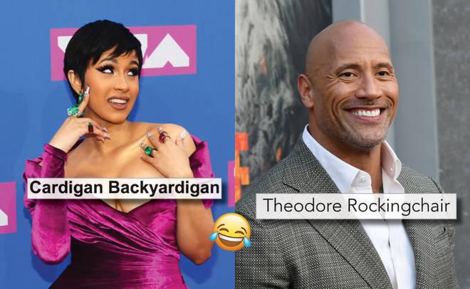 Celebrity real name meme