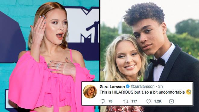 Zara Larsson Responds To Instagram Sex Controversy Popbuzz