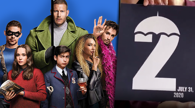 The Umbrella Academy season 2 will be released on Netflix in July