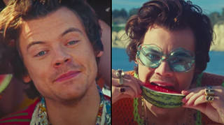 Harry Styles' music video for Watermelon Sugar playfully hints at oral sex meaning