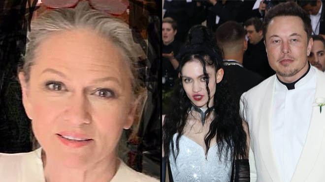 Grimes' mum hit out at the billionaire on Twitter.