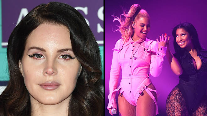 Lana Del Rey criticised for Instagram post referencing Beyoncé, Nicki Minaj and Doja Cat