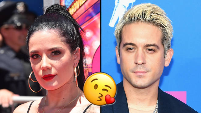 Who was g eazy dating before halsey
