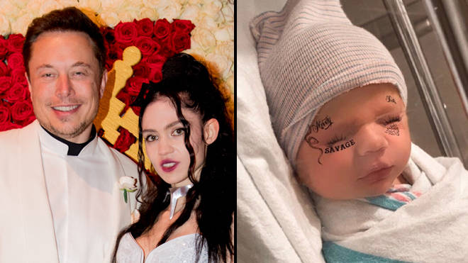 Grimes and Elon Musk forced to legally change baby's name from X Æ A-12
