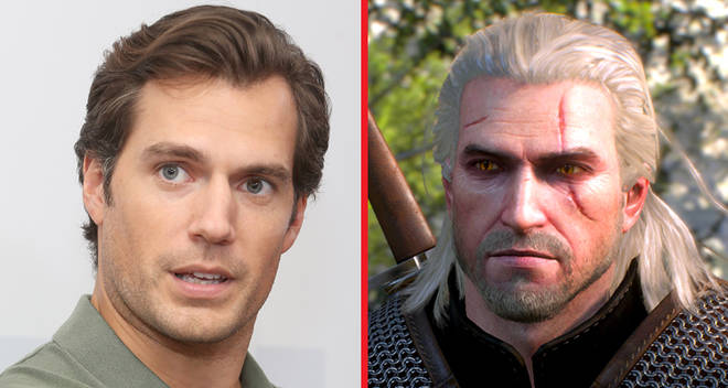 henry cavill geralt witcher netflix tv series