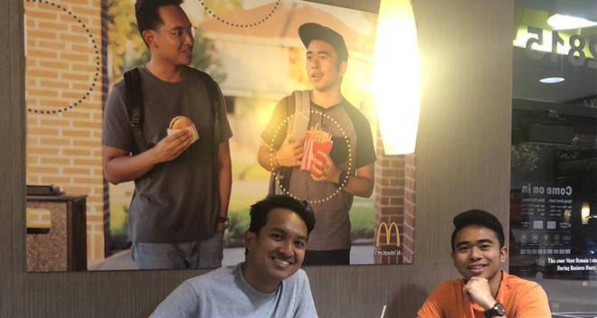 McDonalds poster Jevh M