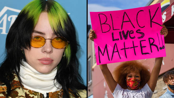Billie has used her platform to promote the Black Lives Matter movement.