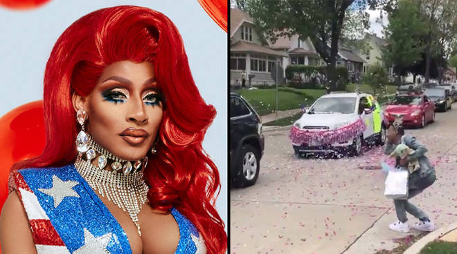 Jaida Essence Hall was crowned the winner of RuPaul's Drag Race via a video call due to social distancing rules.