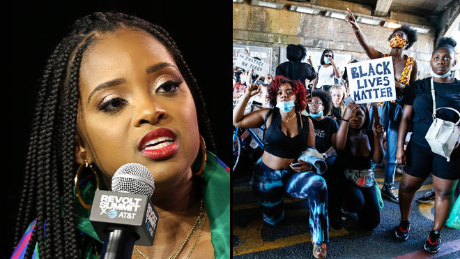 "Tamika Mallory says ""America has looted black people"" in Black Lives Matter speech"