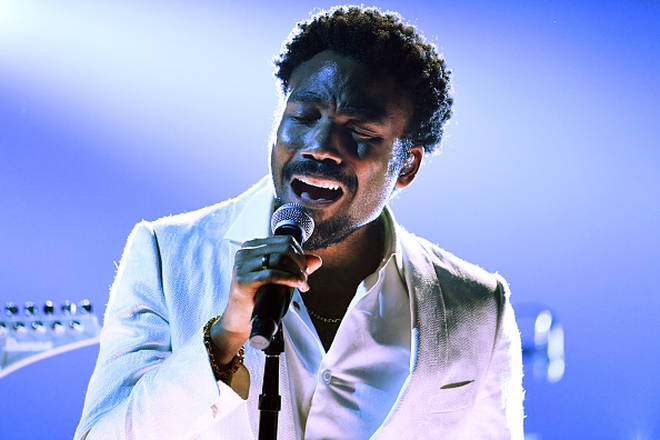 Childish Gambino performs at the 60th Annual GRAMMY Awards on January 28, 2018 in New York City