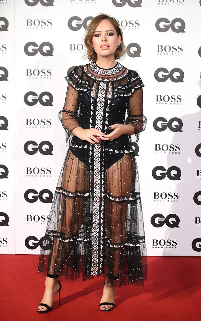 Tanya Burr at the GQ Awards