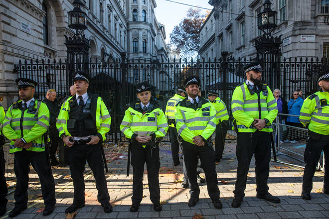 Climate Activists Arrested In Westminster