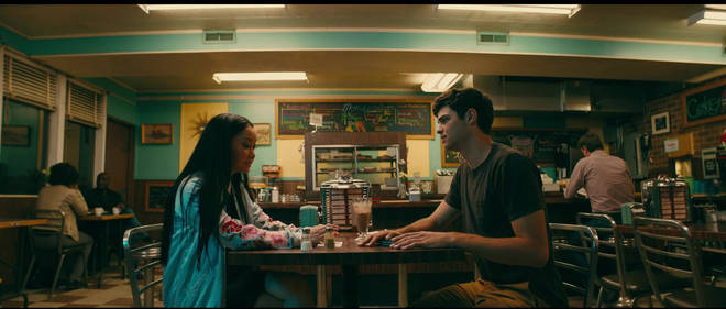 Lara Jean and Peter K diner