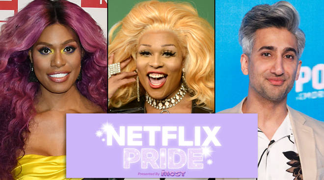 Laverne Cox, Peppermint and Tan France and the rest of the Fab Five will be involved in Netflix's Pride event