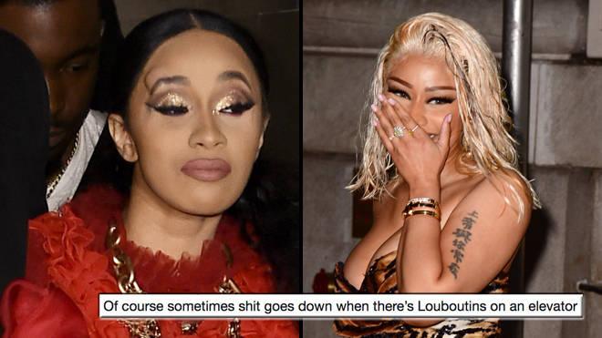 The Best Nicki Minaj And Cardi B Fight Memes Popbuzz